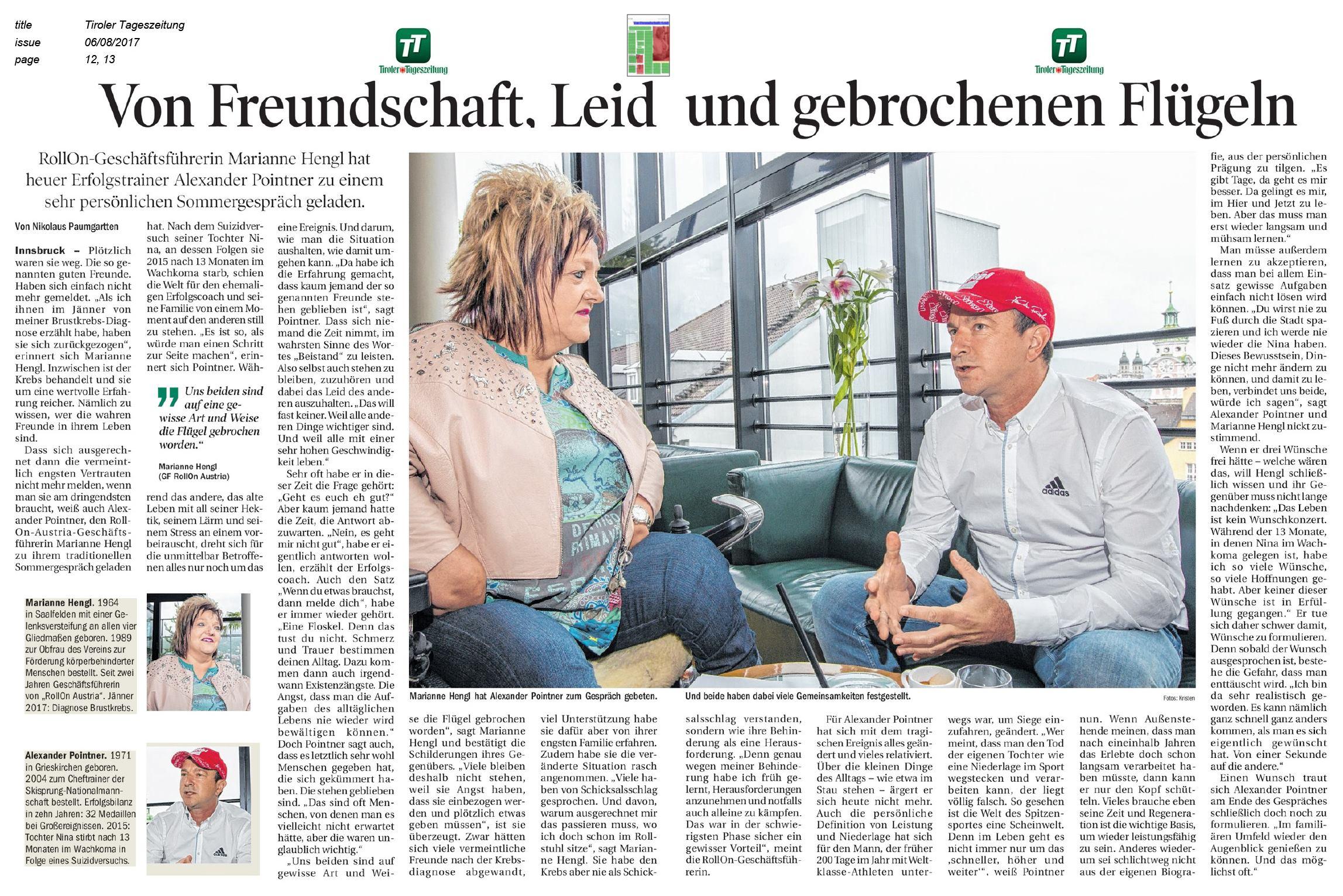 06.08.17 Tiroler Tageszeitung